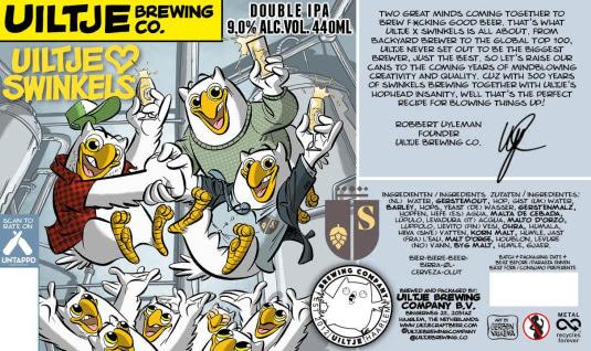 Uiltje Brewing Company Limited Edition Swinkels